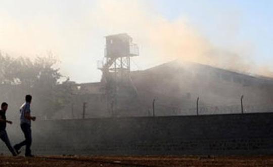 Bakırköy Cezaevinde Yangın