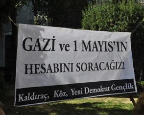 iude katliamlar protesto edildi
