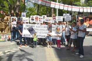 Ankarada kesk eylemi