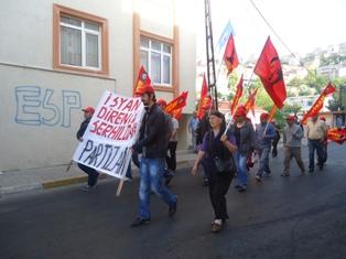 gulsuyunda taksim protestosu