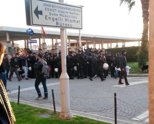 izmir polis saldırısı